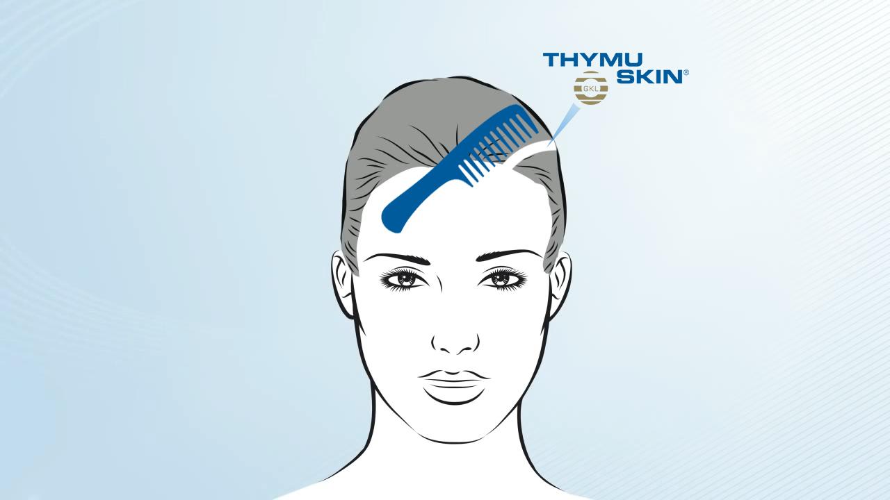Thymuskin Serum Anwendung / Application
